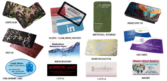 plastic cards,lenticular cards, business cards, silk cards
