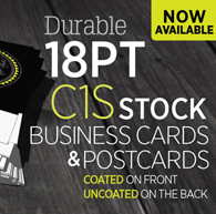 18 pt card printing 18 pt business card printing 18 pt postcard our 18pt c1s cards are extra thick and have the same high premium quality as our 14pt and 16pt cards they have increased thickness that you will love colourmoves Image collections